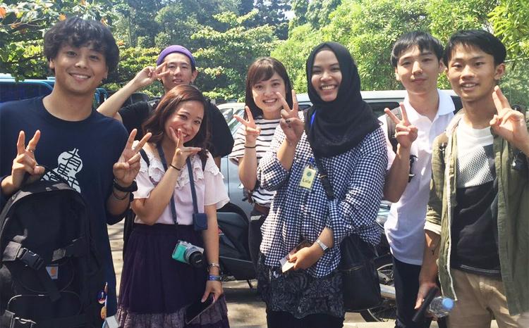 土木・環境分野では、学生の海外留学をサポートしています。