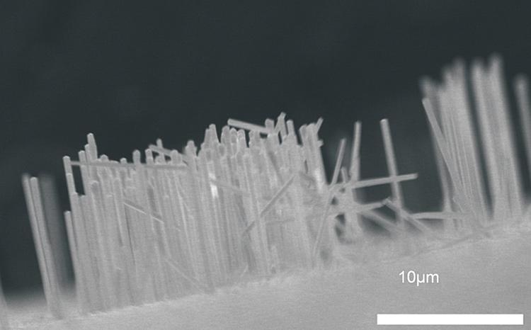 新しい半導体ナノ構造の作製
