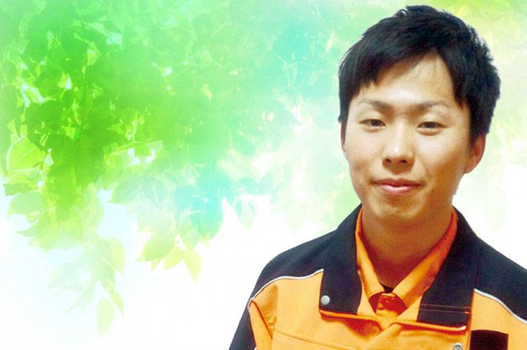 JR西日本 勤務 生産環境工学専攻 環境建設工学コース 修了 谷本 善行さん(平成24年度修了)